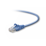 Belkin UTP CAT5e 0.5m 0.5m Cat5e U/UTP (UTP) Blue networking cable