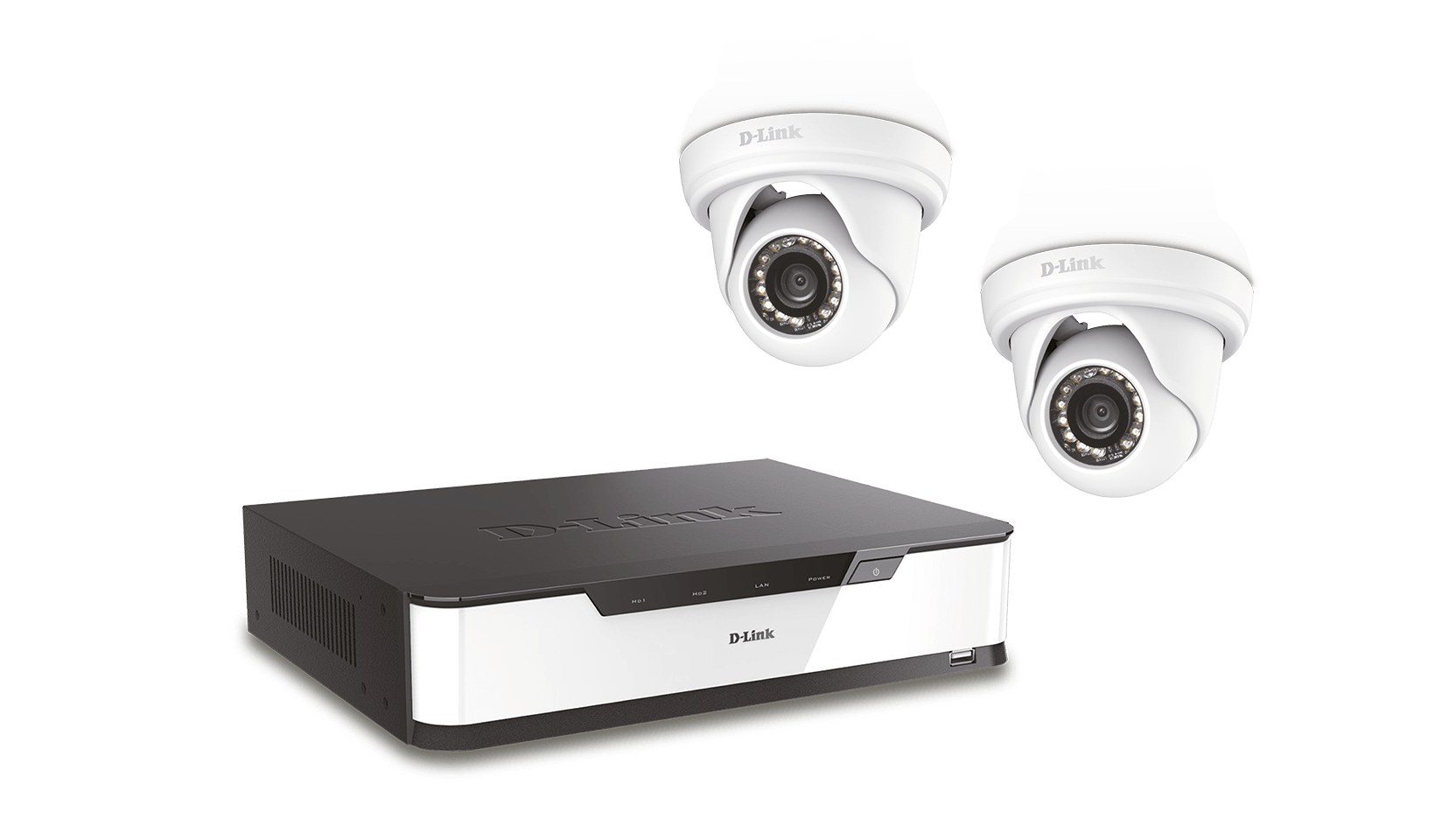 D-Link DNR16-4802-2 Wired & Wireless 16channels video surveillance kit