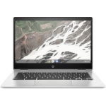"HP Chromebook x360 14 G1 Silver 35.6 cm (14"") 1920 x 1080 pixels Touchscreen 8th gen Intel® Core™ i7 16 GB DDR4-SDRAM 64 GB eMMC Wi-Fi 5 (802.11ac) Chrome OS"
