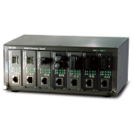 Planet MC-700 2U Black network equipment chassis