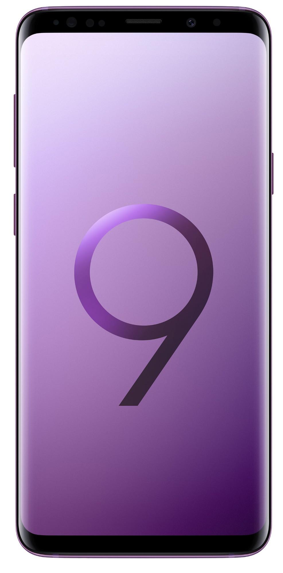 """Samsung Galaxy S9+ SM-G965F 6.2"""" Single SIM 4G 6GB 128GB 3500mAh Purple SM-G965FZPEBTU"""