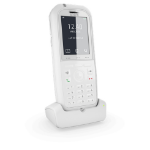 Snom M90 DECT telephone handset Caller ID White