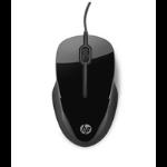 HP X1500 mouse USB Type-A Optical Ambidextrous