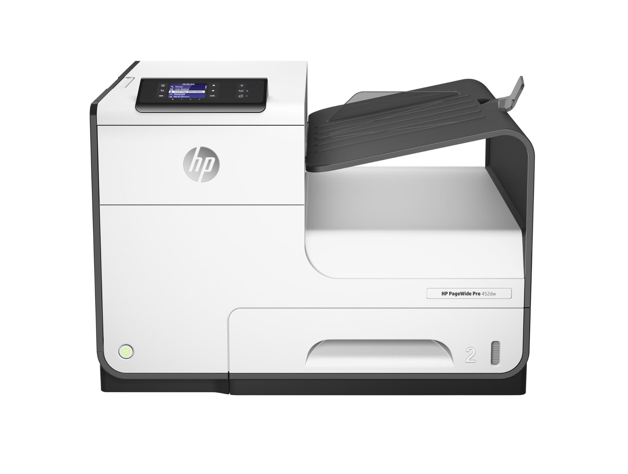 HP PageWide 452dw inkjet printer Colour 2400 x 1200 DPI A4 Wi-Fi