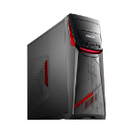 ASUS ROG G11CD-K-UK037T PC 7th gen Intel® Core™ i5 i5-7400 8 GB DDR4-SDRAM 1000 GB HDD Tower Gray, Red Windows 10 Home