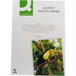 Q-CONNECT A4 PHOTO GLSS PAPER 180G PK50