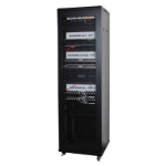 Lanview LVR243017 rack cabinet 42U Freestanding rack Black