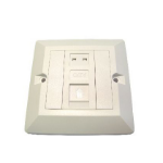 Cables Direct UT-8801 wall plate/switch cover White