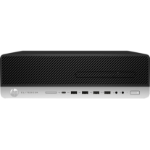 HP EliteDesk 800 G3 6th gen Intel® Core™ i5 i5-6500 8 GB DDR4-SDRAM 256 GB SSD Black SFF PC