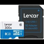 Lexar 8GB microSDHC UHS-I 8GB MicroSDHC UHS-I Class 10 memory card