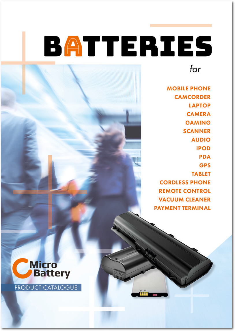 Publication MicroBattery Catalogue 2018