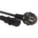 Microconnect PE010418 1.8m IEC320 Black power cable
