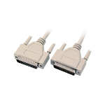 Microconnect PRIGG10 serial cable Beige 10 m DB25