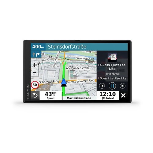 """Garmin DriveSmart 65 navigator 17.6 cm (6.95"""") Touchscreen TFT Fixed Black 240 g"""