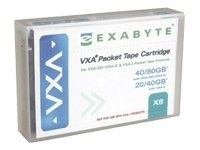 Data Cartridge - V6 20/40GB 62m For Vxa-2 Drive