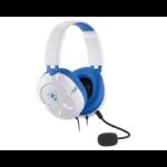 Turtle Beach Ear Force Recon 60P Binaural Head-band Blue, White headset