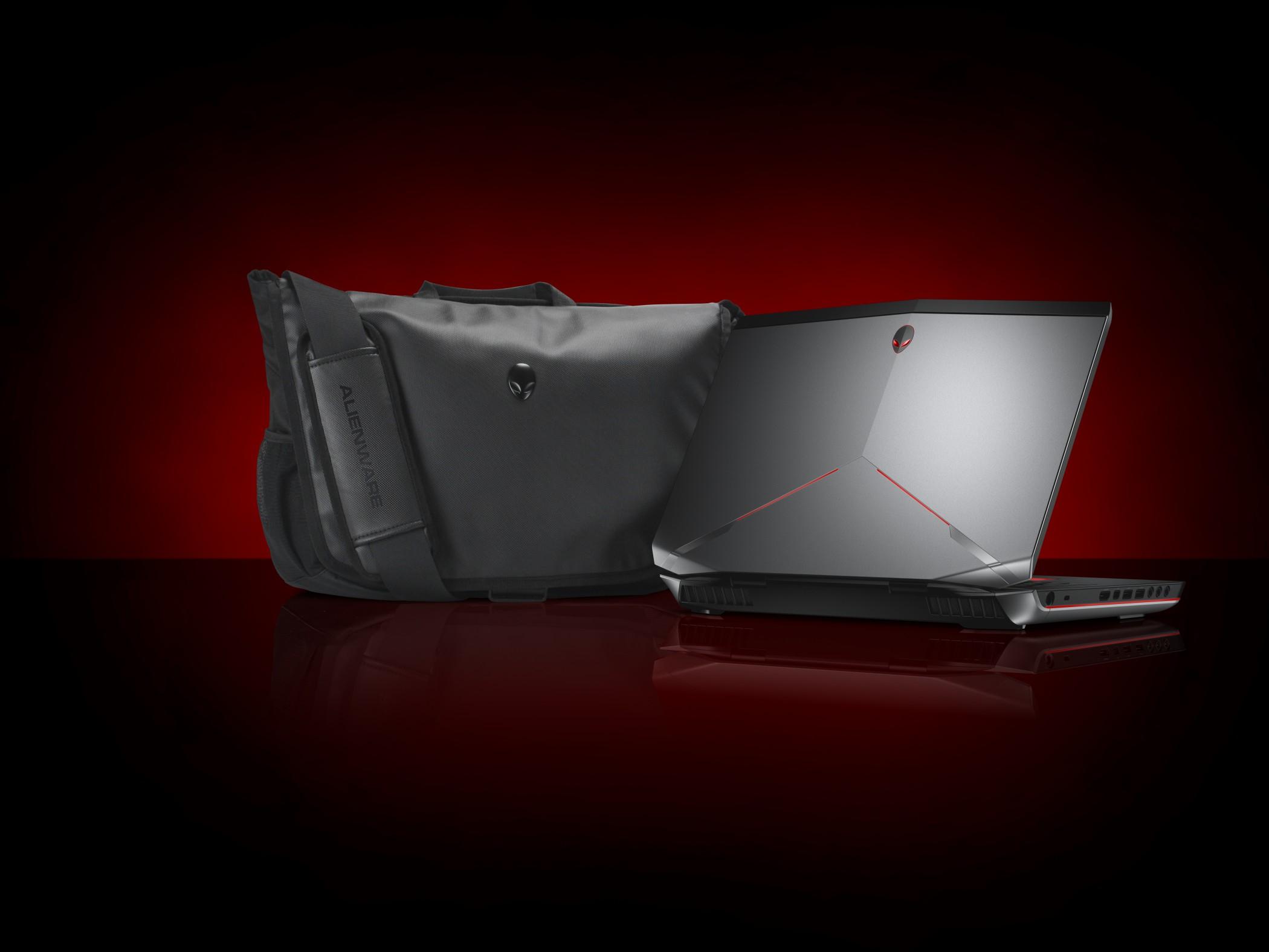 Dell 17-Inch Laptop Alienware Vindicator Shoulder Bag - Black (460-BBKJ)