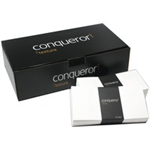 Conqueror OR LAID DL ENVELOPE HI WHITE P500