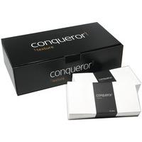 Conqueror OR LAID DL ENVELOPE HI WHITE P500
