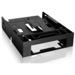 "Icy Dock MB343SP storage drive enclosure 2.5"" Black"
