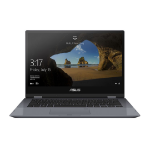 "ASUS VivoBook Flip TP412UA-EC069T Grijs Hybride (2-in-1) 35,6 cm (14"") 1920 x 1080 Pixels Touchscreen 2,2 GHz Intel® 8ste generatie Core™ i3 i3-8130U"