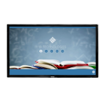 """i3-Technologies i3TOUCH V1175 4K touch screen monitor 190.5 cm (75"""") 3840 x 2160 pixels Black Multi-touch"""