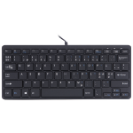 R-Go Tools R-Go Compact Keyboard, QWERTY (NORDIC), black, wired
