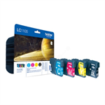 Brother LC-1100VALBP Ink cartridge multi pack, 450pg + 3x325pg, 9.5ml+3x7.5ml, Pack qty 4 LC1100VALBP