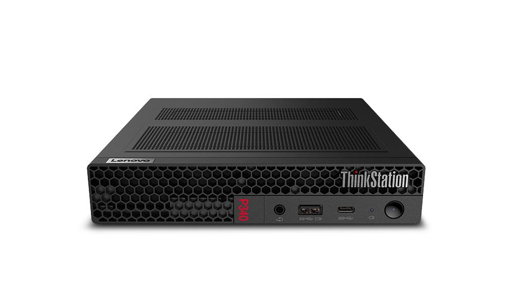 Lenovo ThinkStation P340 Tiny Intel® Core™ i7 de 10ma Generación i7-10700T 16 GB DDR4-SDRAM 512 GB SSD mini PC Negro Puesto de trabajo Windows 10 Pro