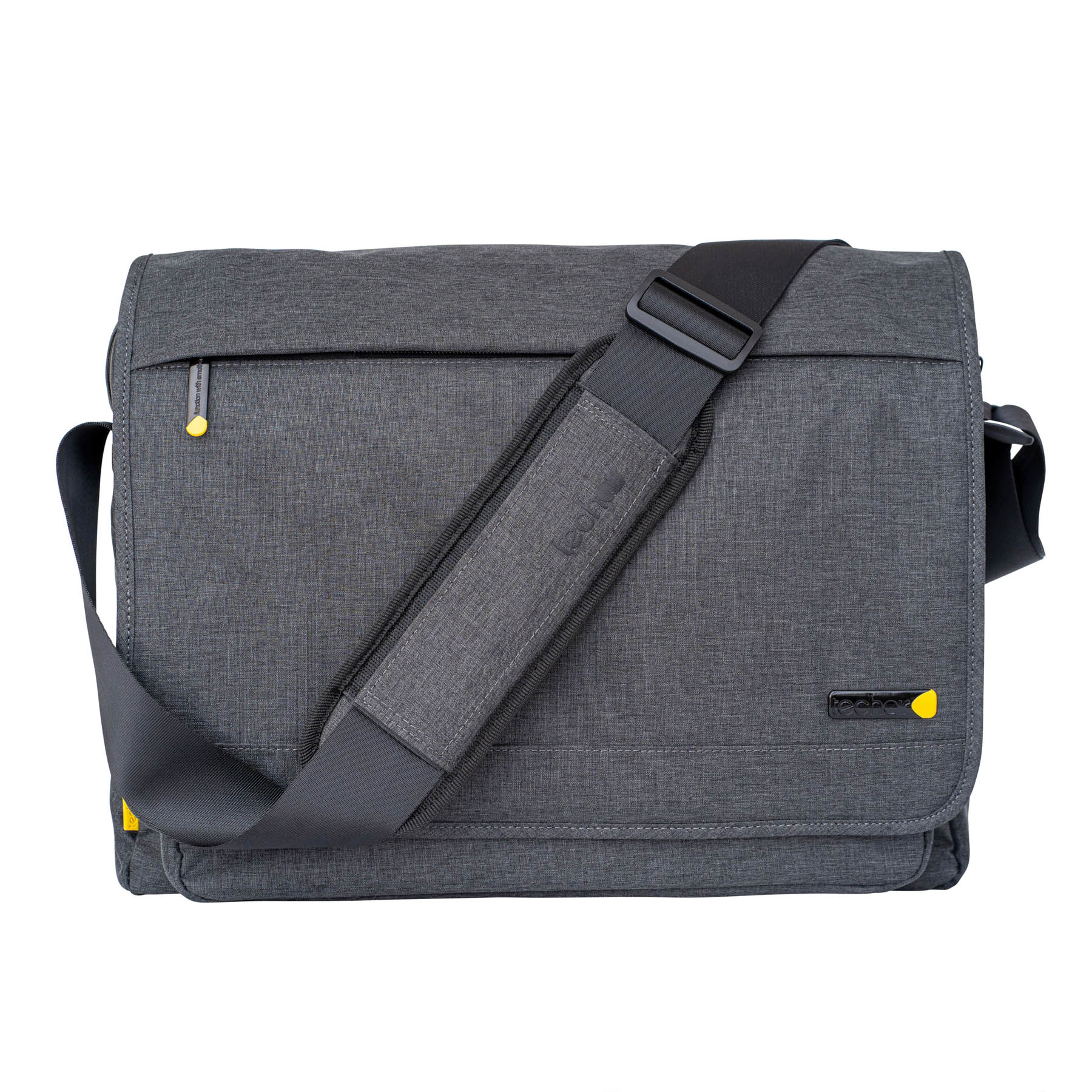 "Tech air Evo Pro notebook case 39.6 cm (15.6"") Messenger case Gray TAEVMM010"