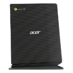 Acer Chromebox CXI2_Qb3215U 1.7GHz 3215U 1L sized PC Black Mini PC