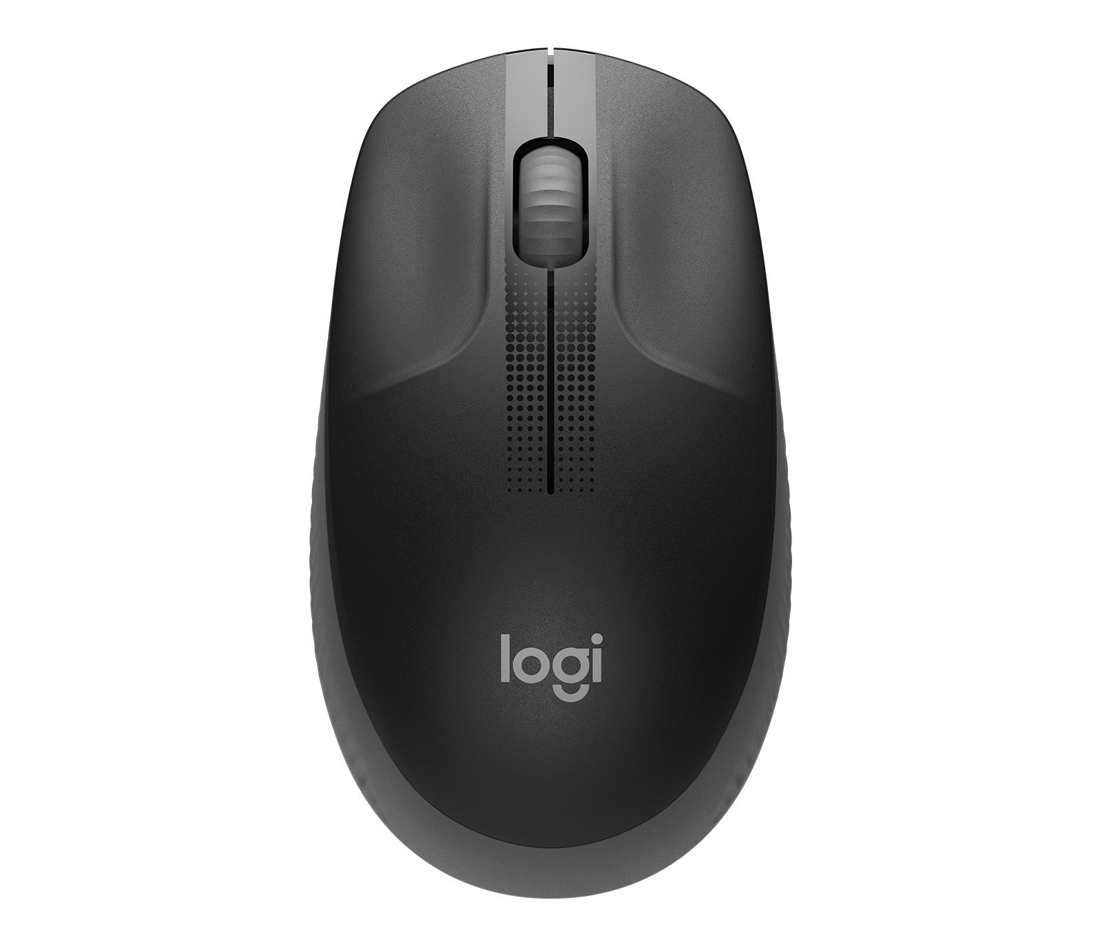 Logitech M190 ratón RF inalámbrico Óptico 1000 DPI Ambidextro