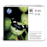 HP P2V37A (91) Printhead multi pack, Pack qty 3