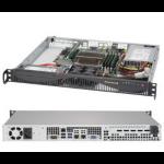 Supermicro 5019S-ML Intel® C236 LGA 1151 (Socket H4) 1U Black