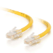 C2G Cat5E Assembled UTP Patch Cable Yellow 0.5m
