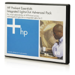 Hewlett Packard Enterprise iLO Advanced 1 Server License with 3yr 24x7 Tech Support and Updates