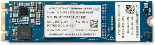 HP 16GB Intel Optane M.2 PCI Express 3.0 3D Xpoint NVMe