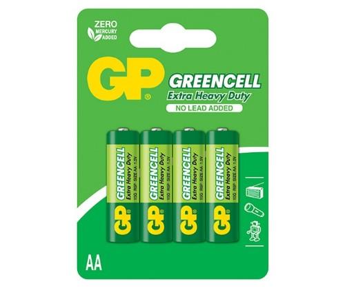 GP Batteries Greencell Carbon Zinc 4 AA Single-use battery