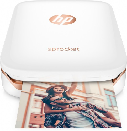 "HP Sprocket ZINK (Zero ink) 313 x 400DPI 2"" x 3"" (5x7.6 cm) photo printer"