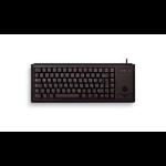 CHERRY G84-4400 keyboard USB AZERTY French Black