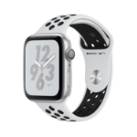 Apple Watch Nike+ Series 4 smartwatch Silber OLED GPS