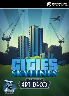 Nexway Cities: Skylines - Content Creator Pack: Art Deco Video game downloadable content (DLC) PC/Mac/Linux Español