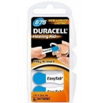 Duracell 1.4 V, zinc-air, 6 pack Zinc-Air 1.4V non-rechargeable battery