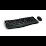 Microsoft 5050 keyboard RF Wireless + USB QWERTY UK English Black