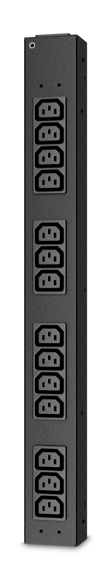 APC AP6003A unidad de distribución de energía (PDU) Negro 14 salidas AC