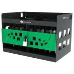 lockncharge Chromebook Wall Cage Desktop mounted Black