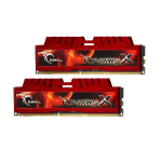 G.SKILL DDR3-1600 8GB Dual Channel [RipjawsX] F3-12800CL9D-8GBXL