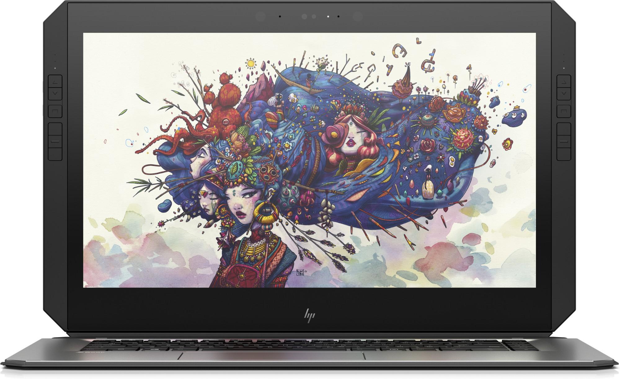 """HP ZBook x2 G4 Zilver Mobiel werkstation 35,6 cm (14"""") 3840 x 2160 Pixels Touchscreen Intel® 8ste generatie Core™ i7 8 GB DDR4-SDRAM 256 GB SSD Windows 10 Pro"""