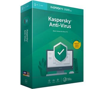 Kaspersky Lab Anti Virus 2019 1 license(s) 1 year(s) German
