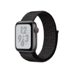 Apple Watch Nike+ Series 4 OLED Cellular Grey GPS (satellite) smartwatch